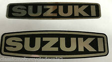 SUZUKI GP100 GP125 ENGINE COVER DECALS X 2