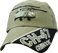 CH-47 CHINOOK Officially Licensed Military Baseball Cap  Hat  OD Green