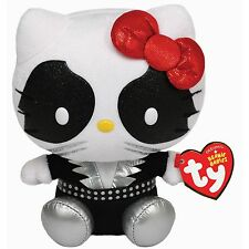 Ty Beanie Babies 42061 Hello Kitty Kiss Rock Band Cat Man