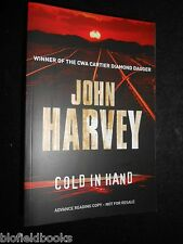 Cold in Hand by John Harvey - 2008-1st - Advance Reading Copy - CWA Crime Winner