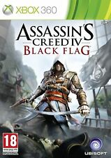 XBOX 360-Assassins Creed IV (4) black flag
