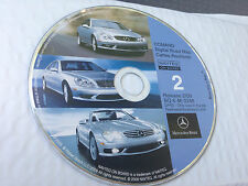 2002 03 04 MERCEDES CLK430 CLK500 CLK55 NAVIGATION MAP DISC CD 2  © 2009 UPDATE