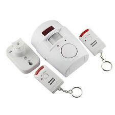 FL Home Motion Sensor 105dB Alarm with 2 Remote Control US
