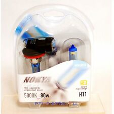 Nokya H11 Cosmic White S2 Low Beam Headlight Halogen Light Bulb 1 Pair NOK8018