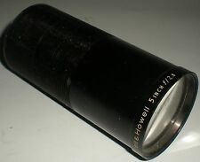 """PROJECTOR MOVIE BELL & HOWELL APPROX 5"""" 4 3/8"""" F/2.8 LENS 49.5MM THREAD BARREL"""