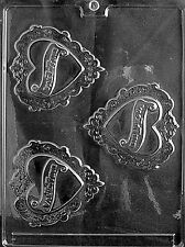 FANCY VALENTINE PIECES V33 Chocolate Candy Soap molds wedding cupcake toppers