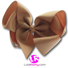 "✿ 6"" Extra Large Big Hair Bow Alligator Clip ✿ 40 colours ✿ UK Stock ✿"