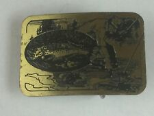 The Great Chicago American Belt Buckle CO. Bass Fishing Belt Buckle