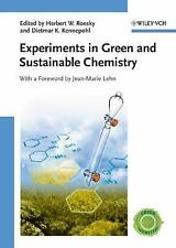 Experiments in Green and Sustainable Chemistry-ExLibrary