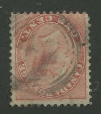 """CANADA #14 USED 4-RING NUMERAL CANCEL """"47"""""""