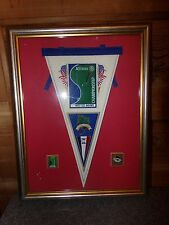 Glen Oaks Country Club Allianz Golf Championship Framed Pennant and Pins