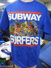 Youth Licensed Subway Surfers Shirt New Size 2XL (18-20)