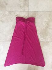 Hollister HCO Pink Fuchsia Tube Top Summer Sun Dress - Size: Extra Small XS