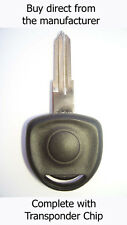 VAUXHALL ASTRA 1995 - 2004 SPARE KEY with Virgin ID40 Transponder Chip.