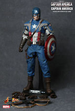 New hot toys 1/6 scale figure captain america the first avenger MMS156 uk vendeur