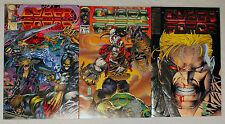 3 Cyber Force ~ Mar #2 May #3 July #4 ~ Silvestri Image ~ Ungraded Uncertified