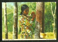 Rubber Tapper Indian Woman BEAUTY Hinde Malaysia 70s
