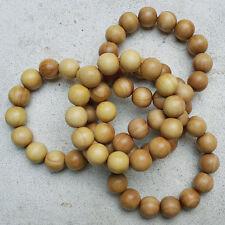 Genuine Fragrant Sandalwood 16 MM Indonesian Santalum Album Bracelet 14 Beads