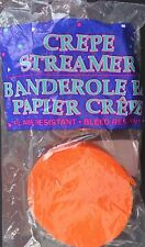 PARTY CREPE PAPER STREAMERS 2 Rolls/Pack Total 140 Feet/Pack SELECT: COLOR