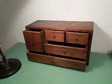 Victorian Pine Spice Drawers Collectors Cabinet  Bank Of Drawers Workshop