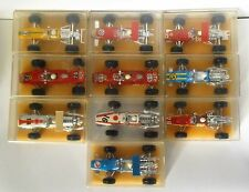 SUBERBE LOT 10 F1 ELF HONDA MATRA MCLAREN FERRARI LOTUS CHAMPION ANCIEN