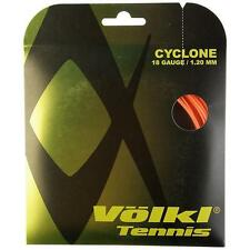 VOLKL CYCLONE TENNIS STRING 1.20MM 18G - 1 X 12M SET - ORANGE - RRP £12