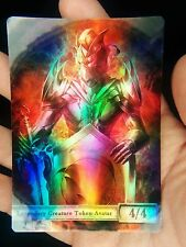1x Kaldra #1 FOIL LAMINATED Custom Altered Token MTG
