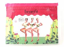 Benefit Holiday Clear Cosmetics Makeup Travel Bag