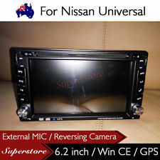 """6.2"""" Double DIN Navigation Car DVD GPS Stereo Player For Nissan Universal"""