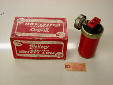 VINTAGE STREET ROD CUSTOM BOMB MALLORY  VOLTMASTER NOS  6 VOLT IGNITION COIL