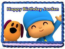 POCOYO EDIBLE CAKE TOPPER BIRTHDAY DECORATIONS