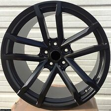"4 New 20"" BLACK Wheels Rims for 2013 2014 2015 Chevrolet Chevy ZL1 CAMARO -211"