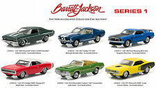 BARRETT JACKSON SCOTTSDALE EDITION SERIES 1, SET OF 6 CARS 1/64 GREENLIGHT 27830
