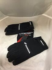 JOE ROCKET MENS HONDA CREW MOTORCYCLE TOUCH SCREEN GLOVES BLACK  2XL
