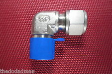 "SSP Griplok® 1/2""Tube OD x 1/2""NPT Male Pipe ELBOW CONNECTOR 316 Stainless Steel"