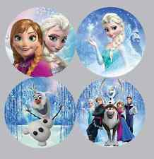 35x MIXED Frozen Stickers NON Personalised Birthday Party Bag Cake Seal -250