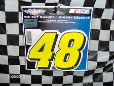 "Jimmie Johnson # 48  Magnet 3.5"" x 5"""