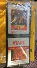 Joust (Atari 2600, 1983) +Raiders Of The Lost Ark 1982 Atari 2600