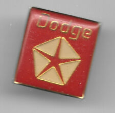 Vintage Chrysler Dodge Emblem old enamel pin