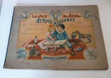 La joie des bébés Album -Alphabet  Grands animaux domestiques IMAGERIE D'EPINAL