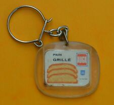 porte clé, années 1960, pain grillé Auga