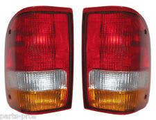 New Replacement Taillight Assembly PAIR / FOR 1993-97 FORD RANGER TRUCK