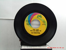 THE FOUNDATIONS -(45)- BABY, NOW THAT I'VE FOUND YOU / COME ON BACK TO ME - 1968