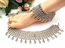 Indian Bridal Costume / Fashion jewellery, Party Wear Anklets / Payal