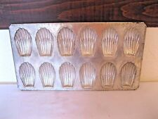 Madeleine Madeline Mini Mold Pan Shell Shaped Tea Cookies Biscuits FRANCE