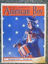 American Boy Magazine  July 1936  Manning deV Lee Cover  VINTAGE ADS  Keds