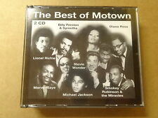 2 CD BOX / THE BEST OF MOTOWN - LIONEL RICHIE, MARVIN GAYE, JACKSON (UNIVERSAL)