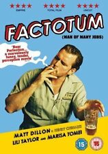 Factotum DVD Matt Dillon Lili Taylor New and Sealed Original UK Release R2