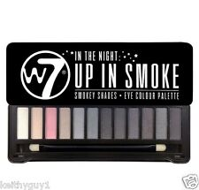 W7 IN THE NIGHT - UP IN SMOKE Smokey Eye Eyeshadow Palette with mirror NEW!