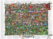 Football Mishmash - The History of Soccer in One Image Poster